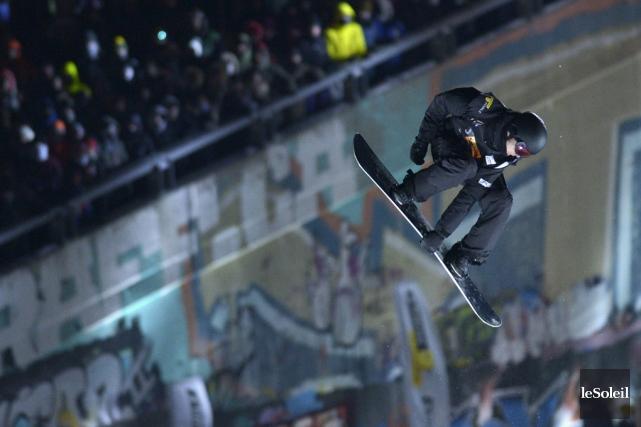 Maxence Parrot a remporté le big air du... (Yan Doublet, Le Soleil)
