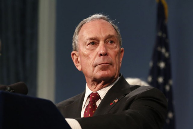 Le milliardaire et ex-maire de New York Michael Bloomberg vient de faire don de... (PHOTO ARCHIVES REUTERS)