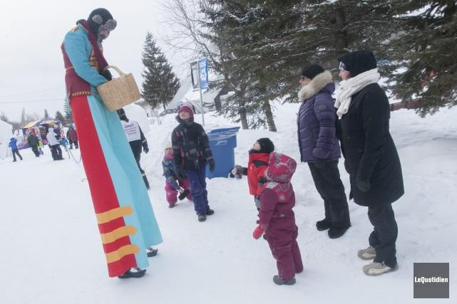 C'était la dernière journée des festivités de Saguenay... (Photo Le Quotidien, Michel Tremblay)