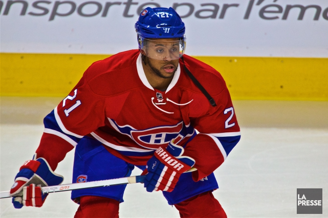 Devante Smith-Pelly... (PHOTO ANDRÉ PICHETTE, ARCHIVES LA PRESSE)