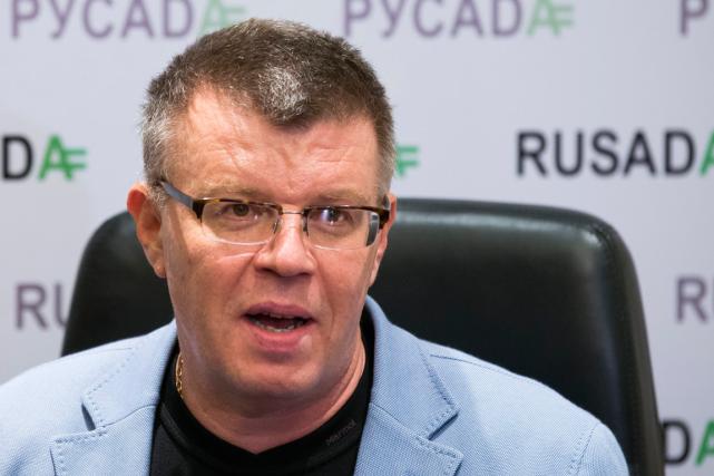 L'ancien directeur exécutif de l'Agence antidopage russe, Nikita... (Photo Alexander Zemlianichenko, archives AP)