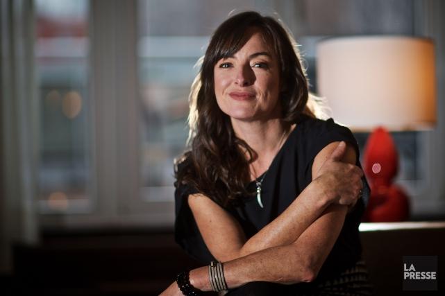 Pascale Bussières est porte-parole des Rendez-vous du cinéma québécois, qui se... (PHOTO ANDRÉ PICHETTE, LA PRESSE)