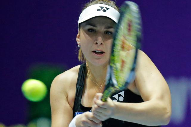 Belinda Bencic a atteint la finale du tournoi... (Photo Dmitri Lovetsky, archives AP)