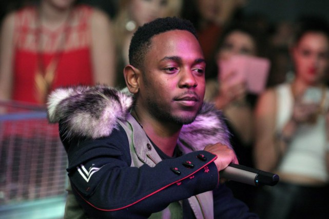 Kendrick Lamar... (Photo Andy Kropa, archives AP)