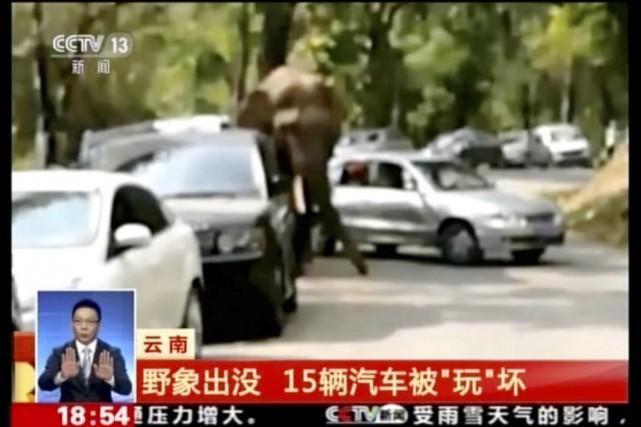 Des images diffusées par les médias et sur... (IMAGE CCTV/AP VIDEO)