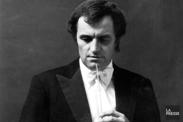 Le jeune chef suisse en 1978, quelques mois... (PHOTO ARCHIVES LA PRESSE)