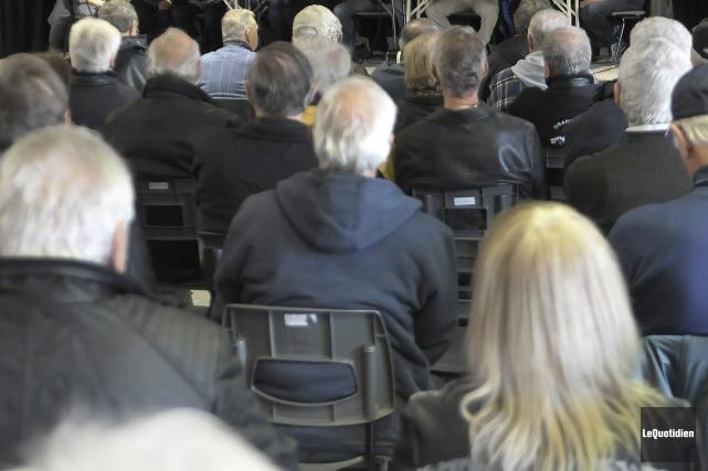Des retraités des secteurs privé et public s'unissent pour former une coalition... (Le Quotidien)