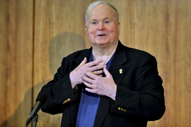 Pat Conroy en mai 2014.... (PHOTO ARCHIVES AP)