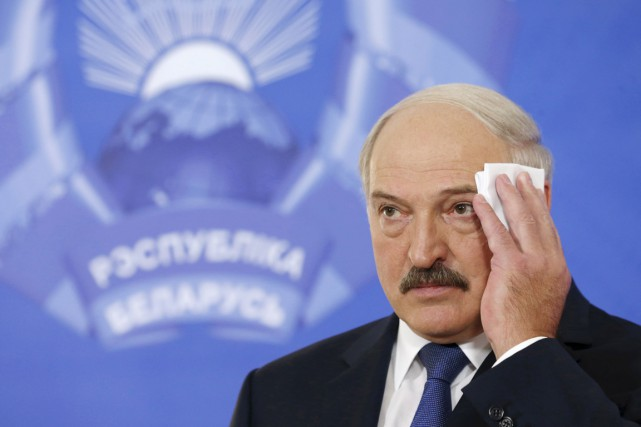 Le président biélorusse Alexandre Loukachenko... (PHOTO VASILY FEDOSENKO, ARCHIVES REUTERS)
