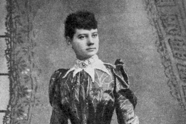 Nellie Bly, de son vrai nom Elizabeth Jane... (PHOTO TIRÉE D'INTERNET)
