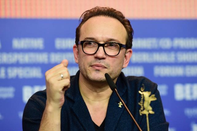 Vincent Perez en conférence de presse à la... (PHOTO AFP)