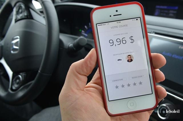 Un chauffeur d'Uber piégé par les contrôleurs routiers a résisté à la saisie de... (Photothèque Le Soleil, Patrice Laroche)