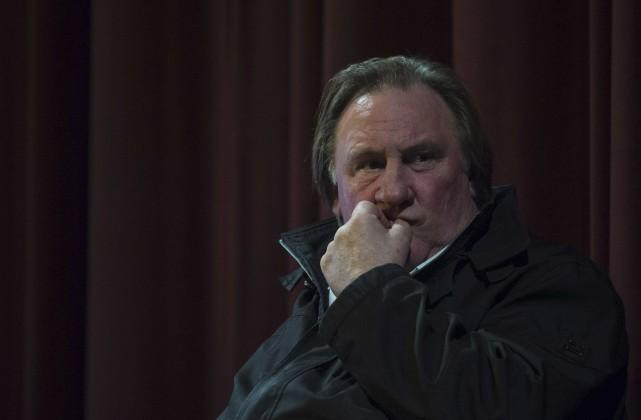 Gérard Depardieu a présenté lundi à Berlin le... (AFP, John MacDougall)