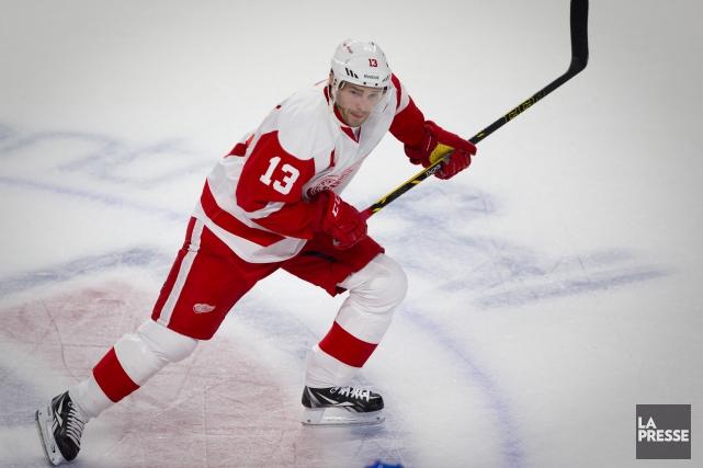 L'attaquant des Red Wings de Détroit, Pavel Datsyuk,... (André Pichette, La Presse)