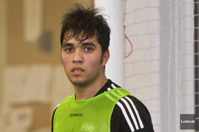 Celui qu'on surnomme «le Messi de Madrid», Gerardo... (Martin Roy, LeDroit)