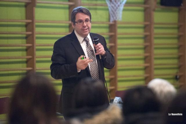 Le directeur général de la Commission scolaire de... (Stéphane Lessard, Le Nouvelliste)