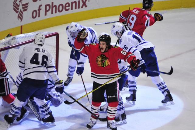 Patrick Kane a récolté un but et trois passes alors que les Blackhawks de... (PHOTO REUTERS)