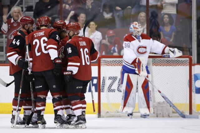 Si ce n'est pas la défaite la plus humiliante de la saison, ce n'est pas bien... (PHOTO AP)