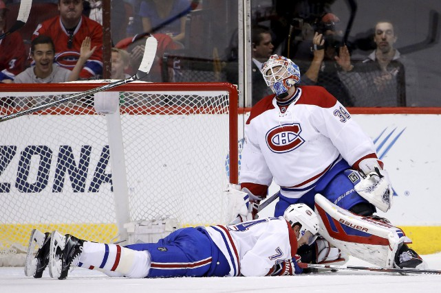 Mike Condon a fait face à 28 tirs.... (Associated Press)