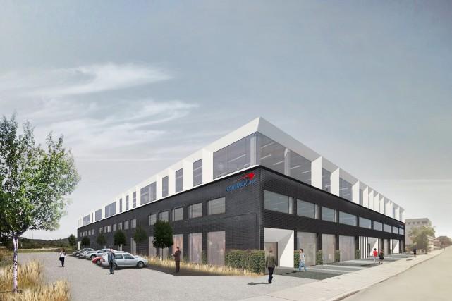 Les nouveaux bureaux montréalais de Capital One seront... (Image fournie par Montoni)