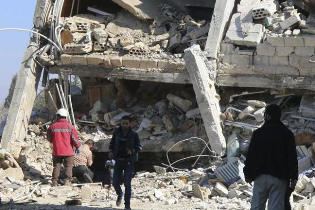 MSF a annoncé de son côté que sept... (Photo AFP)