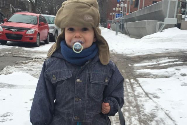 Jules Arsenault, 2 ans... (PHOTO FOURNIE PAR LA FAMILLE)