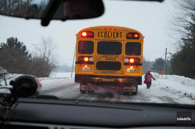 Les écoles des commissions scolaires du Val-des-Cerfs et Eastern Townships sont... (Archives La Voix de l'Est)