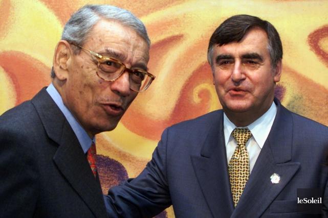 L'ex-secrétaire général de l'ONU, Boutros Boutros-Ghali,avait rencontré l'ex-premier... (Photothèque Le Soleil, PC Jacques Boissinot)