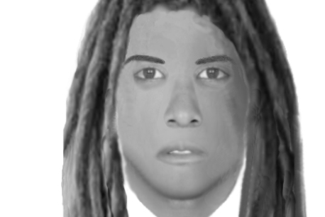 Le portrait-robot du suspect.... (IMAGE FOURNIE PAR LE SPVM)