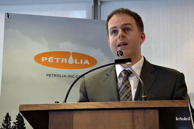 Le président de Pétrolia, Alexandre Gagnon, avait prévenu... (PHOTOTHÈQUE LE SOLEIL)