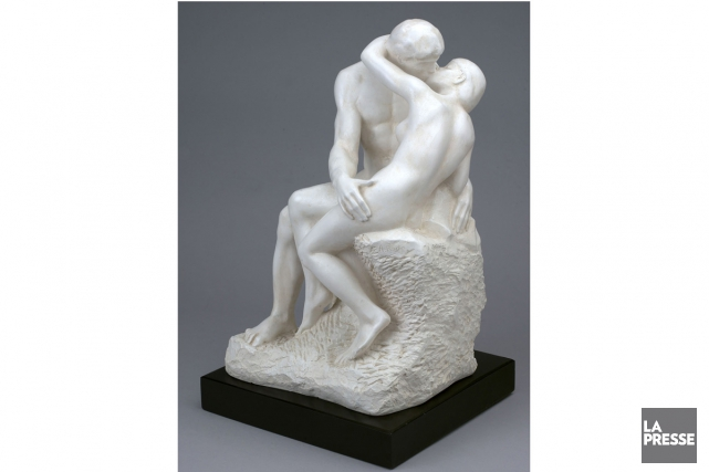 Le baiser de Rodin... (PHOTO ARCHIVES LA PRESSE)
