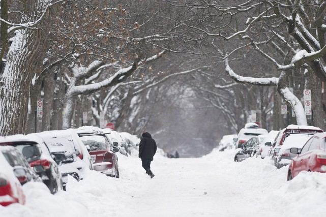 La météo, sujet de conversation par excellence au Québec, a beaucoup fait jaser... (Photo La Presse Canadienne)