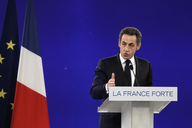 Nicolas Sarkozyest affaibli par plusieurs dossiers judiciaires concernant... (PHOTO AFP)