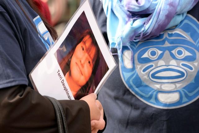 Alors que le nombre de femmes autochtones disparues ou assassinées pourrait... (Photo d'archives)