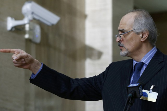 Bachar Jaafari... (PHOTO REUTERS)