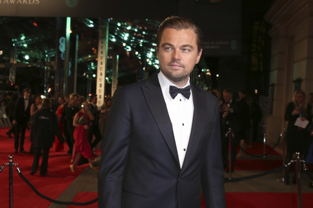 Le dresseur d'animaux John Scott estime que Leonardo DiCaprio... (Archives Associated Press)