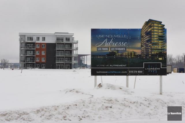 Jusqu'à maintenant, le développement résidentiel de Trois-Rivières sur... (François Gervais, Le Nouvelliste)