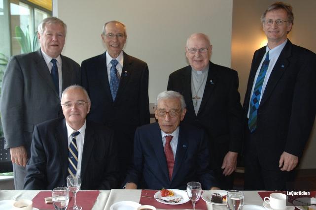 L'ancien secrétaire général de l'ONU, Boutros Boutros-Ghali, qu'on... (Archives Le Quotidien)
