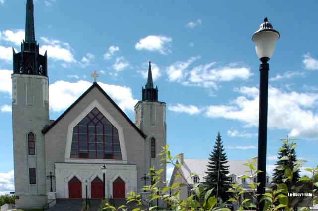 L'église de Yamachiche.... (Archives, Le Nouvelliste)