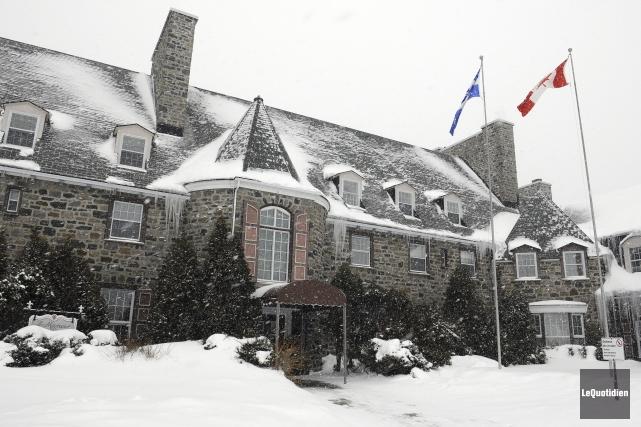 Le Manoir du Saguenay de Rio Tinto Alcan.... (Archives Le Quotidien, Mariane L. St-Gelais)