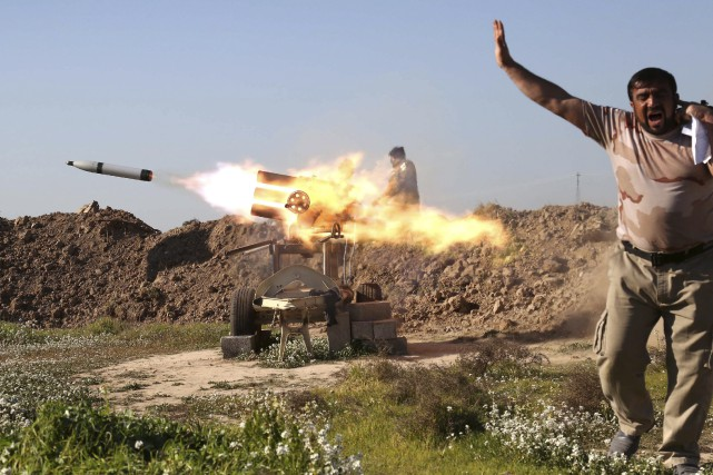 Alors que la Turquie souhaite une intervention militaire... (AFP, Mohammed Sawaf)