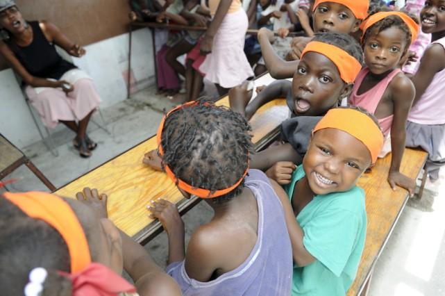 À Haïti, un enfant sur quatre ne va... (123rf/ Arindam Banerjee)