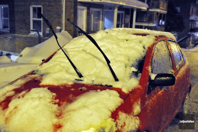 À peine remis de la dernière bordée de neige, Saguenay assure qu'elle met tout... (Archives Le Quotidien, Jeannot Lévesque)