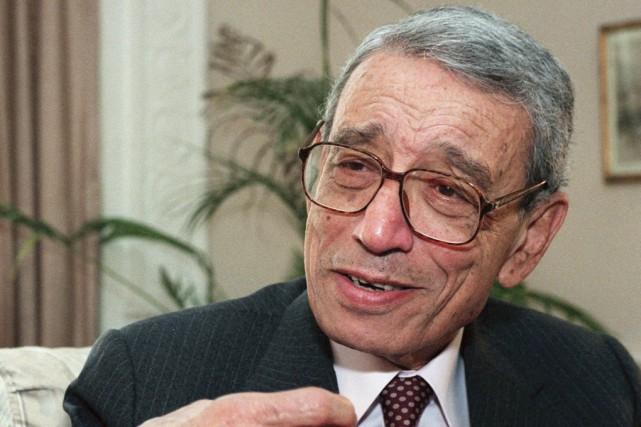 Boutros Boutros-Ghaliavait été le premier Africain à accéder... (Archives Associated Press)