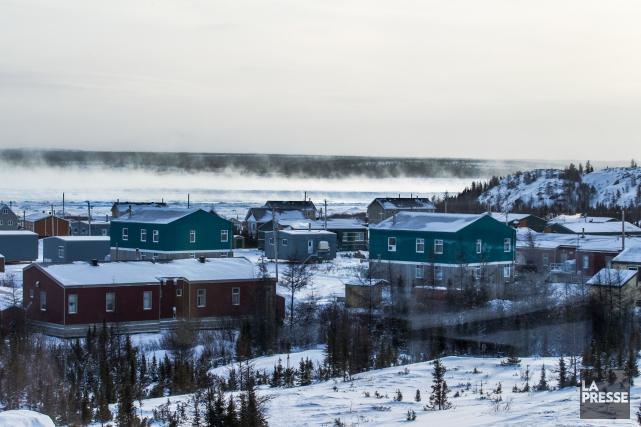Kuujjuaq,capitale du Nunavik, traverse une période difficile:en moins... (PHOTO OLIVIER PONTBRIAND, ARCHIVES LA PRESSE)