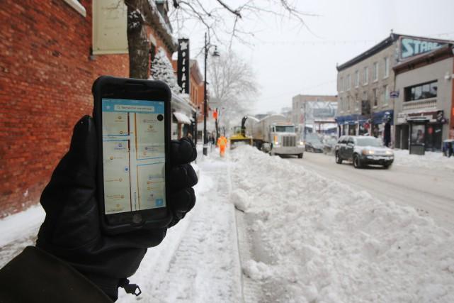 Malgré l'arrivée de l'application Info-Neige en décembre 2014,... (PHOTO MARTIN CHAMBERLAND, ARCHIVES LA PRESSE)