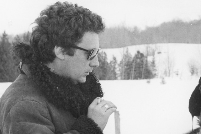 Le cinéaste Claude Jutra sur le plateau de... (Photo fournie par l'ONF)