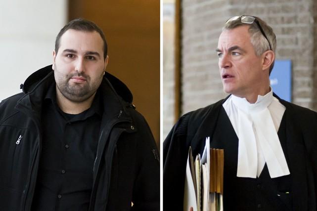 Janick Brault Fortier, accusé de conduite dangereuse causant... (Spectre Média, Jessica Garneau)
