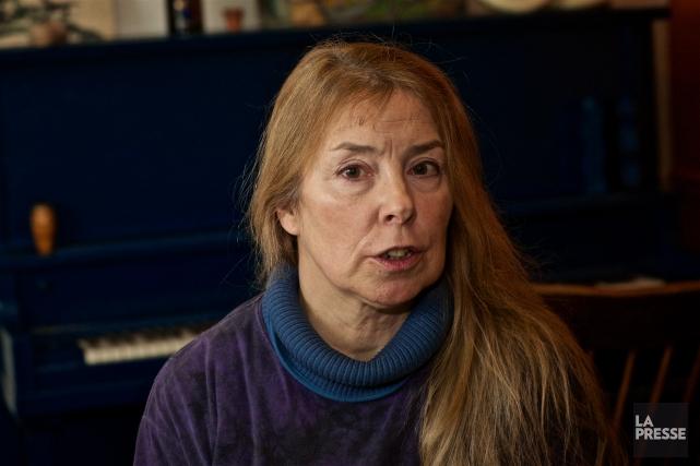 Louise Rinfret, ancienne amie de Claude Jutra qui... (PHOTO ANDRÉ PICHETTE, LA PRESSE)