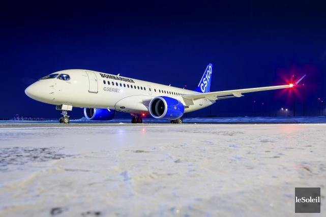Bombardier Avions commerciaux a confirmé jeudi que le... (Photothèque Le Soleil)